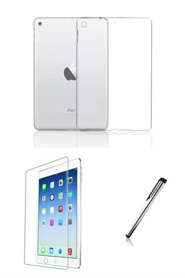 iPad Air 2 Silikon Tablet Kılıfı Seti (9.7 inç)